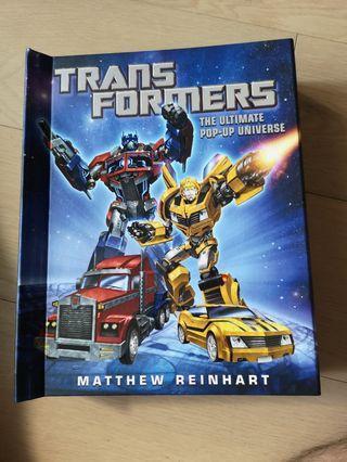 變形金剛 Transformer 3D book