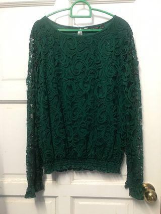 Emerald Green Tops #Carouselland