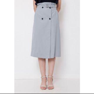 CHOCOCHIPS Diandra Skirt Powder Blue