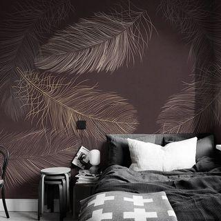 3D Wallpaper Customized for feather design