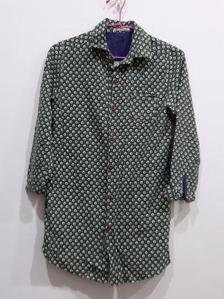 🚚 復古風棉質襯衫