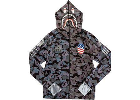 Looking for Adidas x Bape shark hoodie