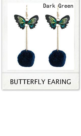 Butterfly earing