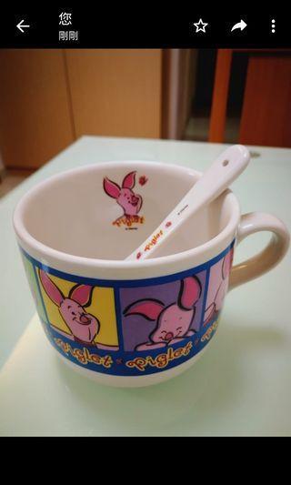 全新winnie the pooh 通粉杯,抽獎禮物
