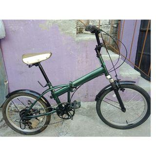 JAP BMX FOLDING BIKE (FREE DELIVERY AND NEGOTIABLE!)