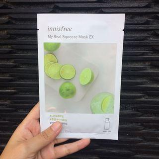 Innisfree Sheet Mask (My Real Squeeze Mask)