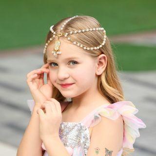 Princess Girl Hair Charm