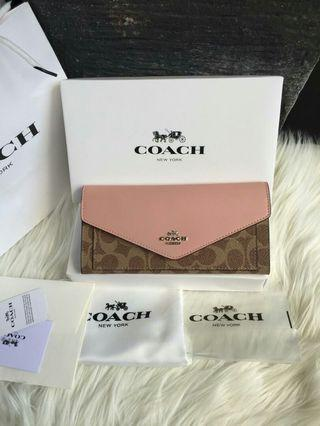 Coach Wallet Envelope Signature