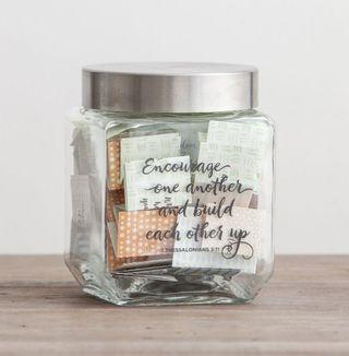 Christian Gift - BNIB Conversation Starter Jar by DaySpring (For Cell Group and Family Time)