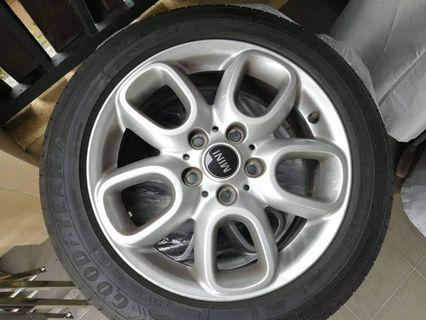 "Original MINI 16"" 494 Loop Spoke Rims"