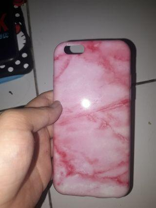 Pink Marble Case for  Iphone 6s