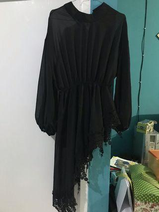 Black Dress / atasan hitam