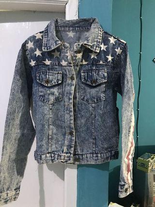 Denim Jacket / jaket jeans