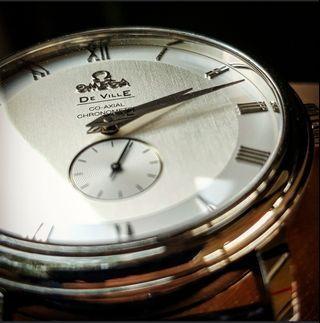 🚚 Omega DeVille small hand co-axial 4813.30.01