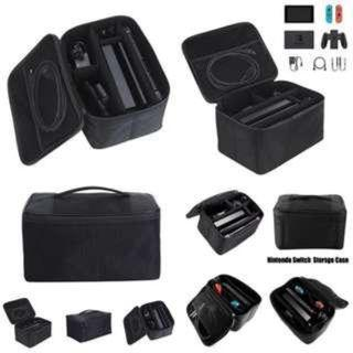 Nintendo Switch Case Carrying Bag Travel  Game Storage Case  Deluxe System Accessories Black All in ONE