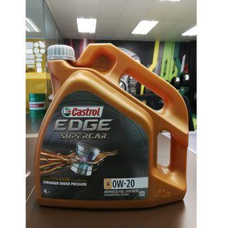 Castrol EDGE Supercar 0W20 Servicing Package