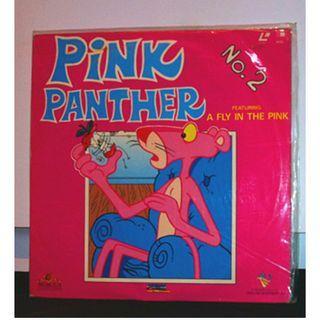 香港絕版雷射影碟美產卡通動畫電影 LD (傻豹動畫劇場版:動畫檔案第2集/ Pink Panther : Animation Archive No.2) cartoon animation Hong Kong laserdisc