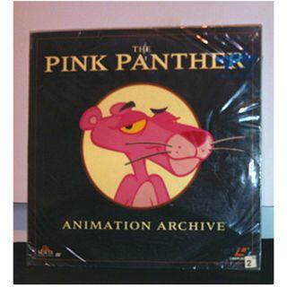 美國絕版雷射影碟美產卡通動畫電影 LD (傻豹動畫劇場版:動畫檔案第一集/ Pink Panther : Animation Archive No.1) cartoon animation USA laserdisc