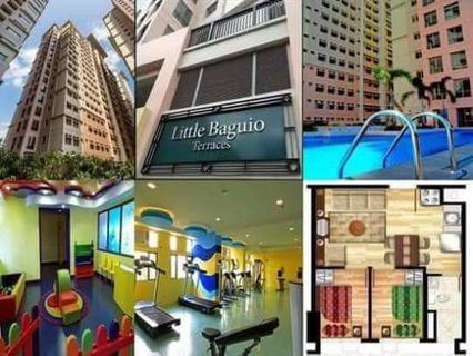 2 Bedroom 18K monthly Rent To Own condo in San juan near Manila, Quezon City and Mandaluyong
