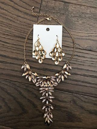 Brand New Necklace and Earrings
