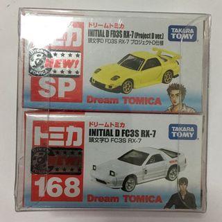 Tomica 頭文字D AE86 RX-7 Initial D