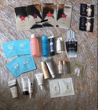 Samples 護膚品及化妝品 (all items $28)