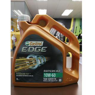 Castrol EDGE Supercar 10W60 Servicing Package