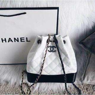 Chanel Gabrielle Backpack (White) Premium quality