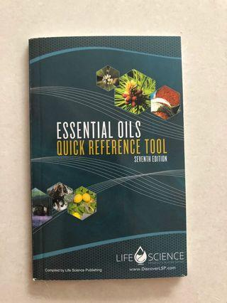 Young living Quick reference tool book