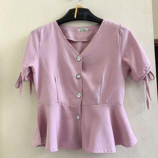 Pink tops fit to L