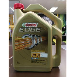 Castrol EDGE 5W30 Servicing Package