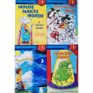 Step Into Reading Level 1 - Story Books for Young Children