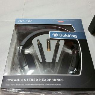 BN Goldring Headphones DR-100 (UP $138) Ear Piece Music Sound Handphone iphone sony samsung