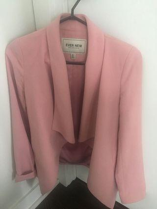 Pink Blazer size 0 evernew melbourne