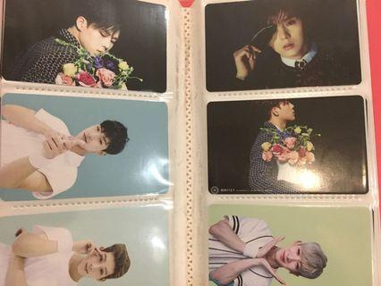 Monsta X unofficial photocards