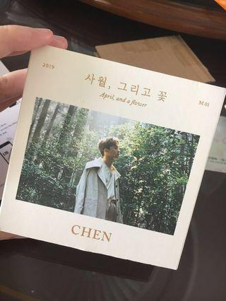 EXO CHEN Album (April, and a flower)