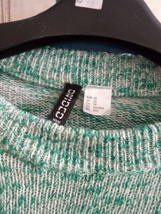 h&m crop knit sweeter