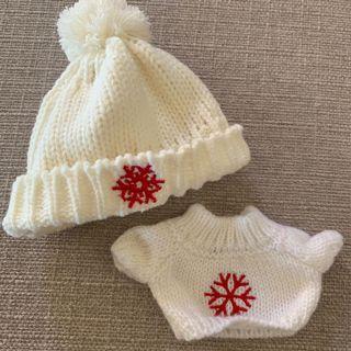 20cm Doll winter sweater + beanie set