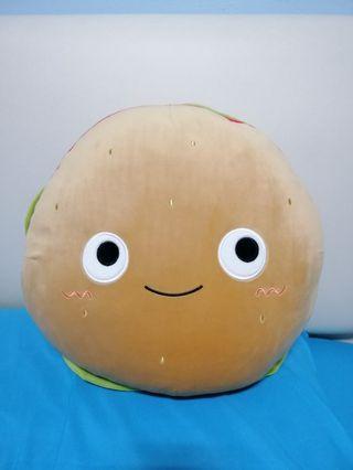 Cute Hamburger Fluffy Plush Toy