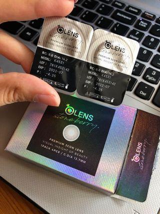 olens color con 隱形眼鏡(月戴)