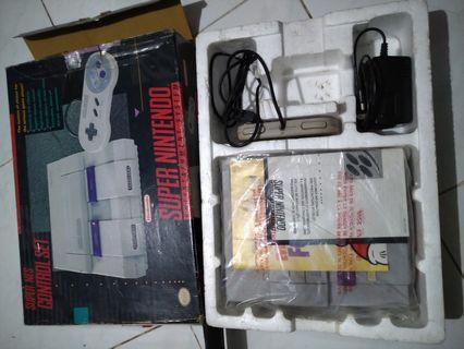 Super Nintendo SNES Control Set Fullset