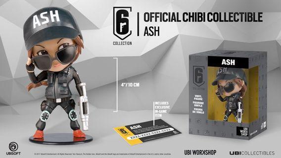 Rainbow six siege ash figure