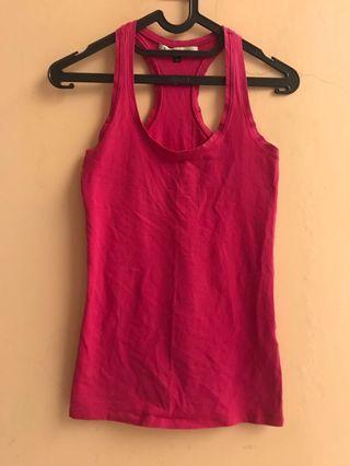 Bershka pink tops S