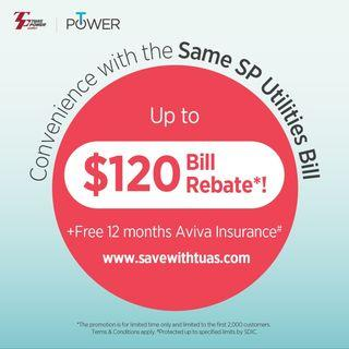 Tuas Power Sign Up Referral code