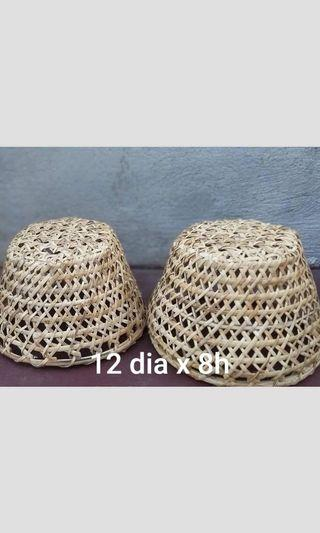Rattan Lamp Pendant - 7pcs Available
