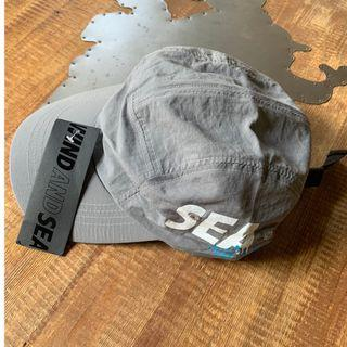 MADNESS 聯名 WIND AND SEA 5 PANELS CAP 五分割帽 帽子 鴨舌帽 19SS