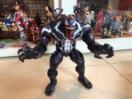 Venom marvel legends baf spiderman