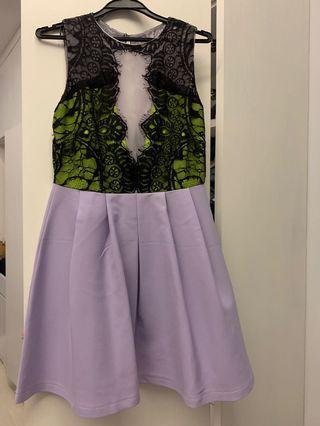 Lovely Lace Little Purple Dress