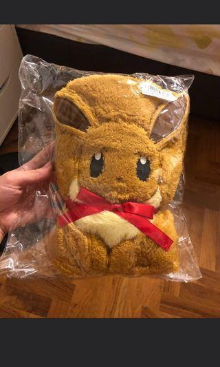 Pokemon Eevee Furry Blanket