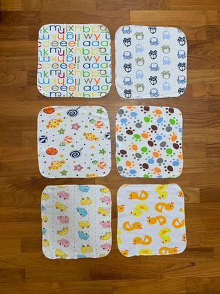 Baby's Washclothes/Burp Wipes